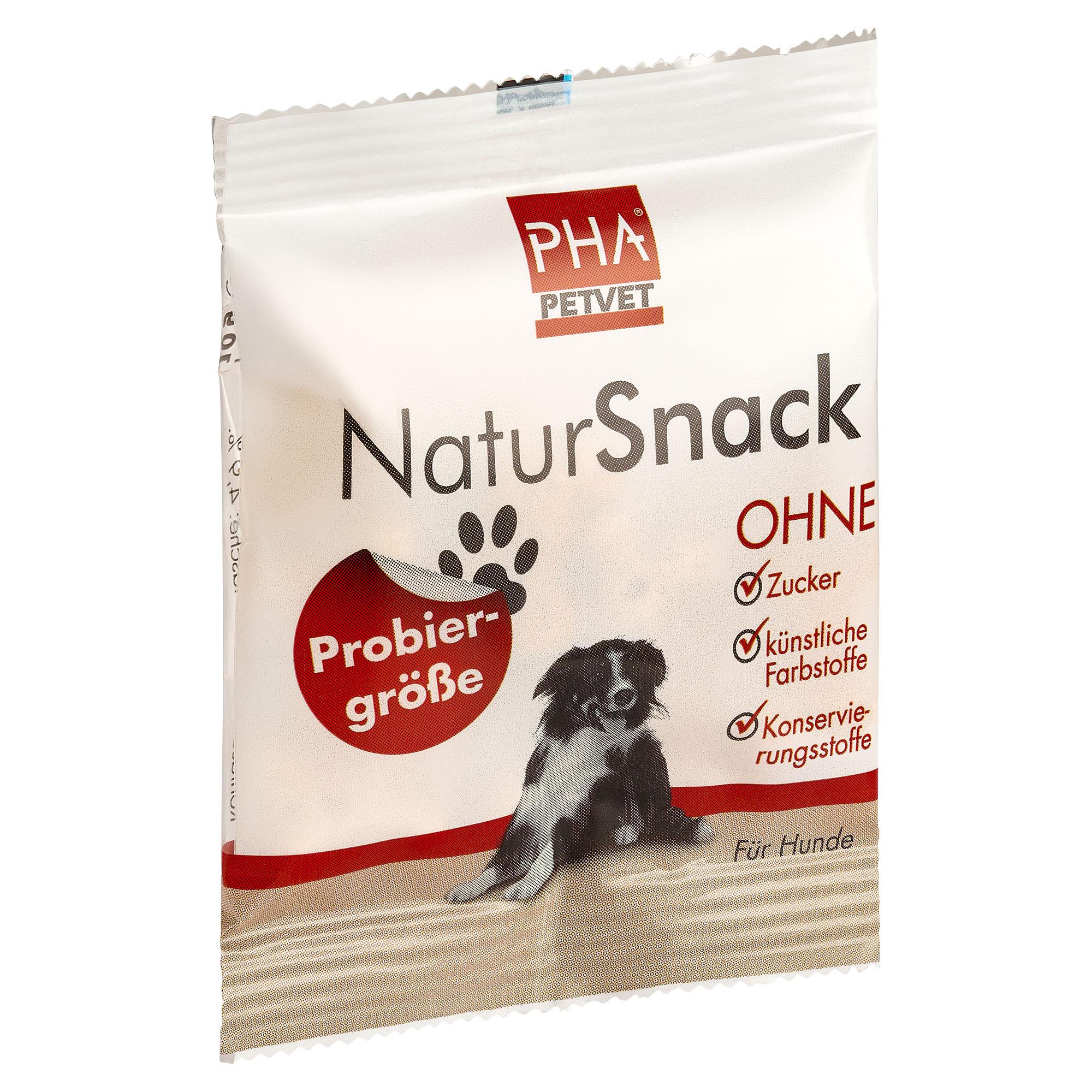 PHA NaturSnack für Hund Probiergröße